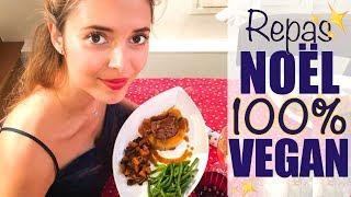 Repas de NOËL 100% végétalien ! | Sweet December Vegan