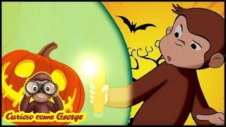 Curioso come George 🎃Paura del buio - Speciale di HALLOWEEN 🎃Cartoni Animati 🐵George la Scimmia