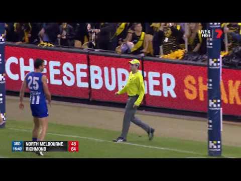 Highlights: North Melbourne v Richmond