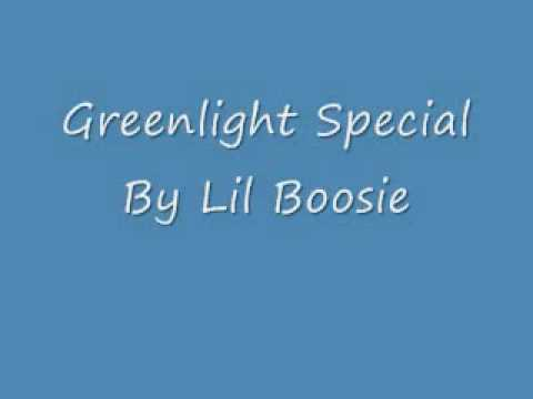 Lil Boosie - GreenLight Special