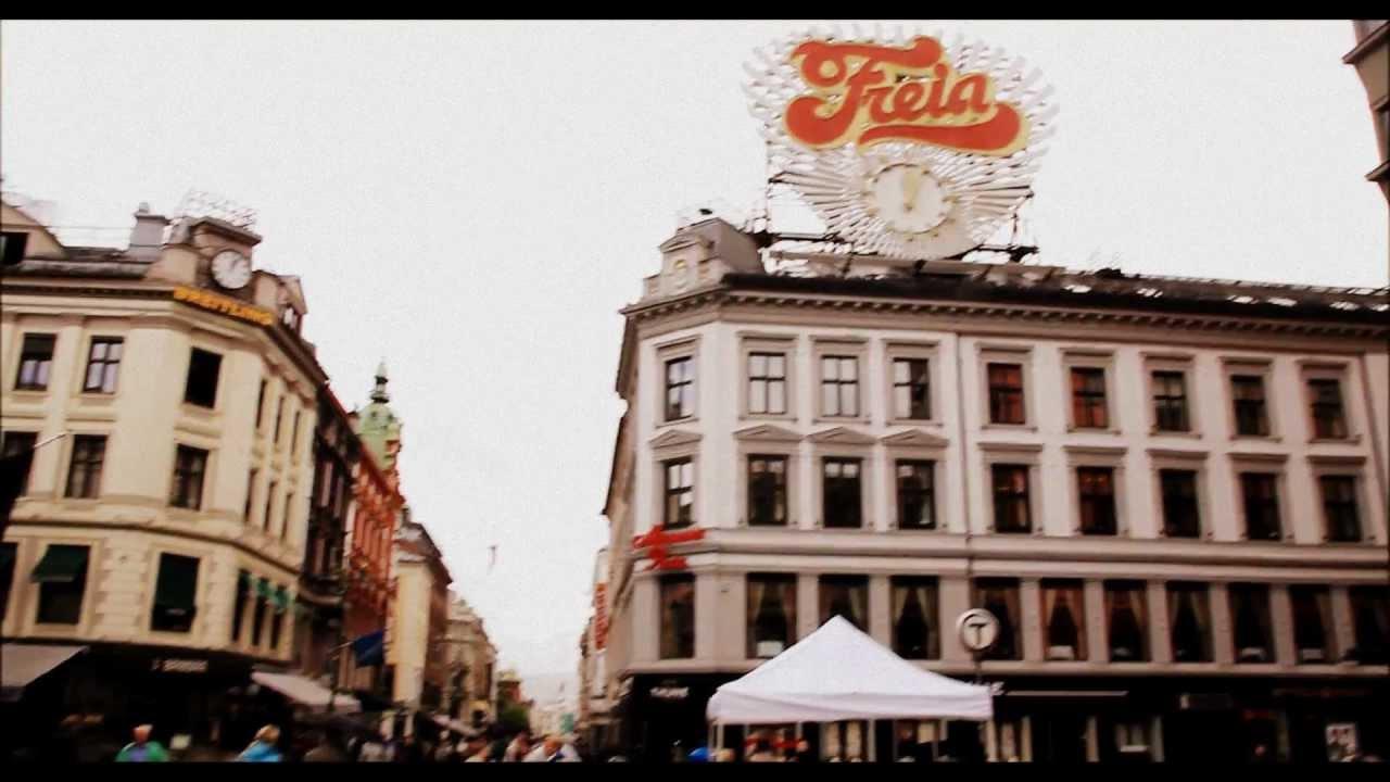 Oslo City Center and Suburbs 2012 - YouTube