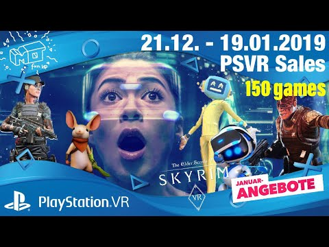 Playstation VR Januar sales  21.12 - 19.01.2019  / deutsch / german