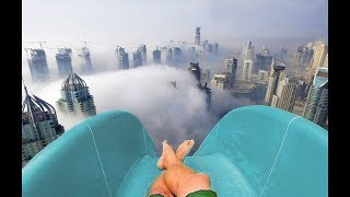 Top 5 INSANE Waterslides You Won't Believe Exist! (2018)