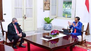 Download Presiden Jokowi Menerima Menteri Luar Negeri Malaysia, Istana Merdeka, 18 Oktober 2021