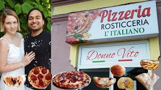 Trying Authentic Pizza in Romania | Pizzeria Rosticceria L'italiano Review | Restaurant Review
