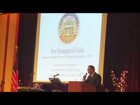 Pretty inauguration 2017 Trump Hawaii