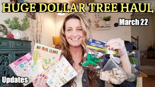 HUGE Dollar Tree Haul ❤ Everything is NEW *Updates/ Special giveaway box😊