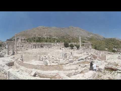 VR 360 Sagalassos Antik Kent Burdur Aglasun