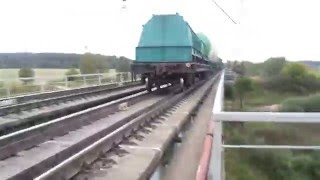 Собака легла под поезд. Жесть !!! Читай описание