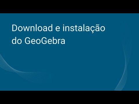 Download E Instalação Do GeoGebra