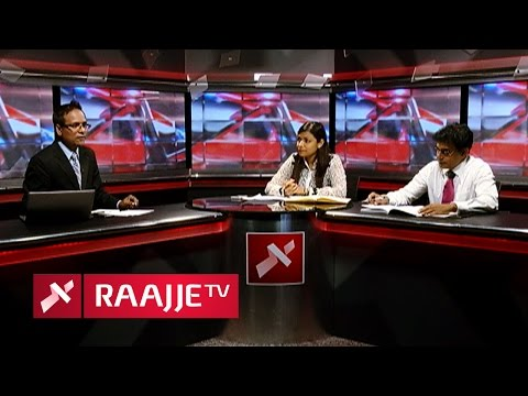 Rozaina Adam & Ibrahim Waheed (lawyer Wadde) Interview with Raajjetv (Falasuruhi)