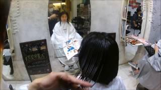 初のナレーションに挑戦!ばっさり女子の動画です。 セミロングからボブ...