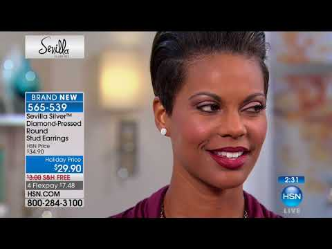HSN | Sevilla Silver Jewelry 10.10.2017 - 02 AM
