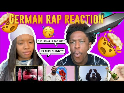 GERMAN RAP REACTION FT SHINDY - SONY PICTURES & MORE!! *HIGHLY REQUESTED*