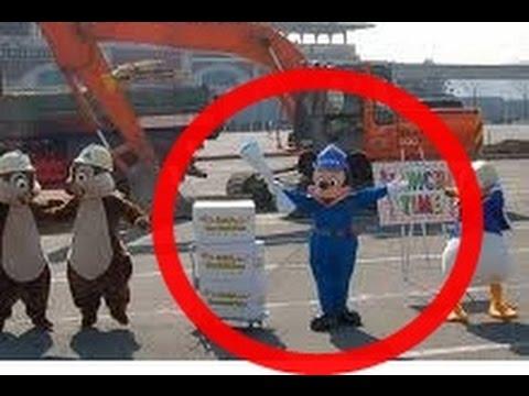 【3.11】東日本大震災あの日ディズニーランドで開園以来28年間 禁止してきた掟が破られた・・