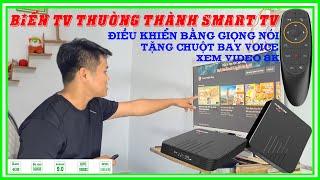 Đập Hộp Review Android Tivi Box Magicsee N5 Max S905X3 | Biến TV thường thành Smart TV