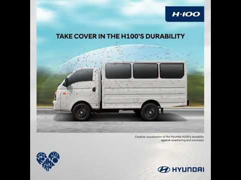 Equip yourself with the Hyundai H100
