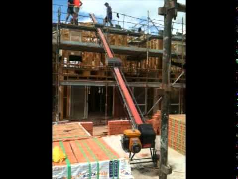 Roof Tile Elevators Elevator Demo Youtube