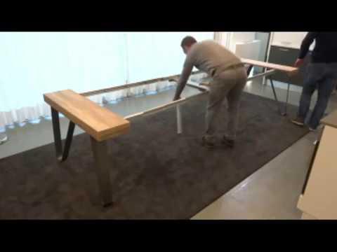 Tavolo consolle axel 325 cm idea salvaspazio youtube