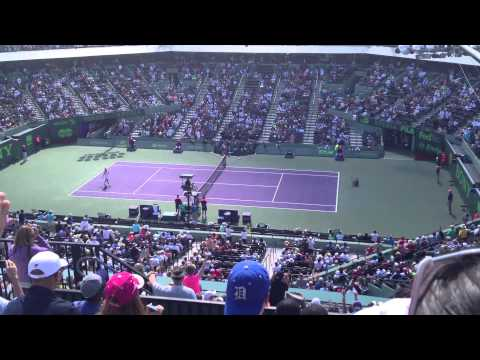 Sony Open 2014 - Agnieszka Radwanska VS. Dominica Cibulkova - Match Point