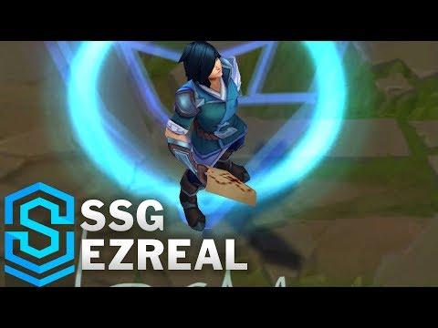 SSG Ezreal (2018) Skin Spotlight - League of Legends