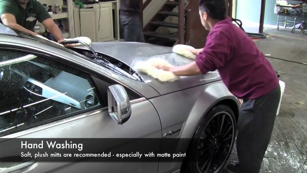 matte car detailing cleaning and protecting matte paint youtube. Black Bedroom Furniture Sets. Home Design Ideas