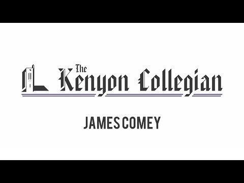 The Kenyon Collegian: FBI Director James Comey