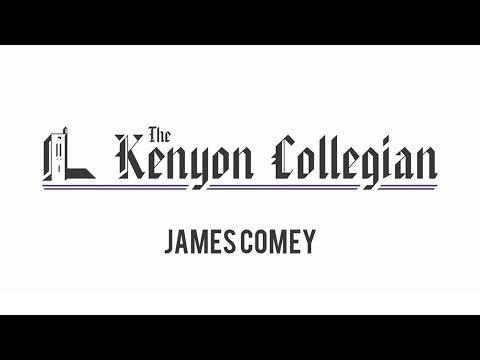 Kenyon College: FBI Director James Comey  |  The Kenyon Collegian