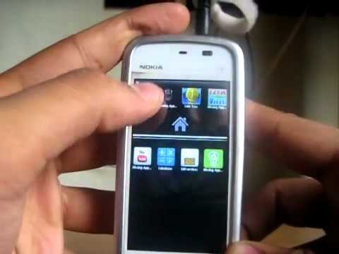 Android 2.1 Eclair (GDESK) On Nokia 5233,5230,5800,5235 Etc. Tutorial.flv