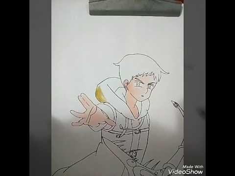 Como Pintar Melhor Colorindo Roupa Do King Nanatsu No Taizai
