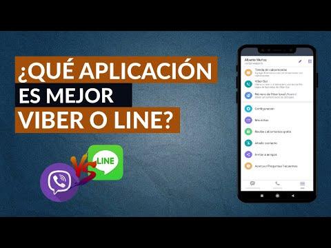 Qué Aplicación es Mejor, Viber o Line