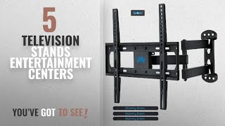 Top 10 Television Stands Entertainment Centers [2018]: Mounting Dream MD2377 TV Wall Mount Bracket