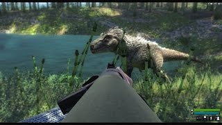 theHunter:Primal -- Queen Primal and T-Rex Kills With Mookie