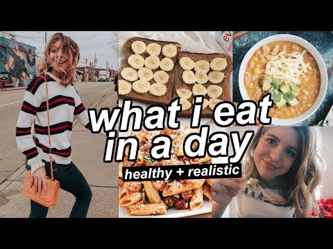 What I Eat in a Day (realistic + healthy) + My Struggles With Food