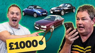 homepage tile video photo for £1000 Cheap Summer Car Challenge (feat. Mike Brewer)