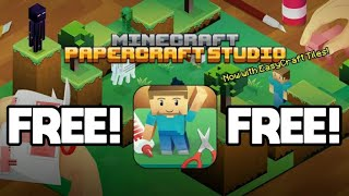 How to get Minecraft Papercraft Studio for free on android