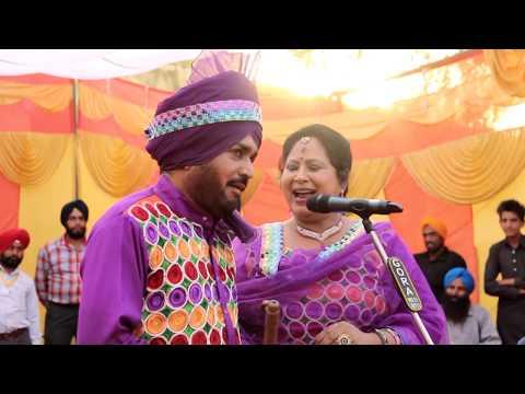 Kothe Ton Dig Pai Mayi ( Saun Mahina ) Live Akhada - Hakam Bhaktriwala Daljit Kaur