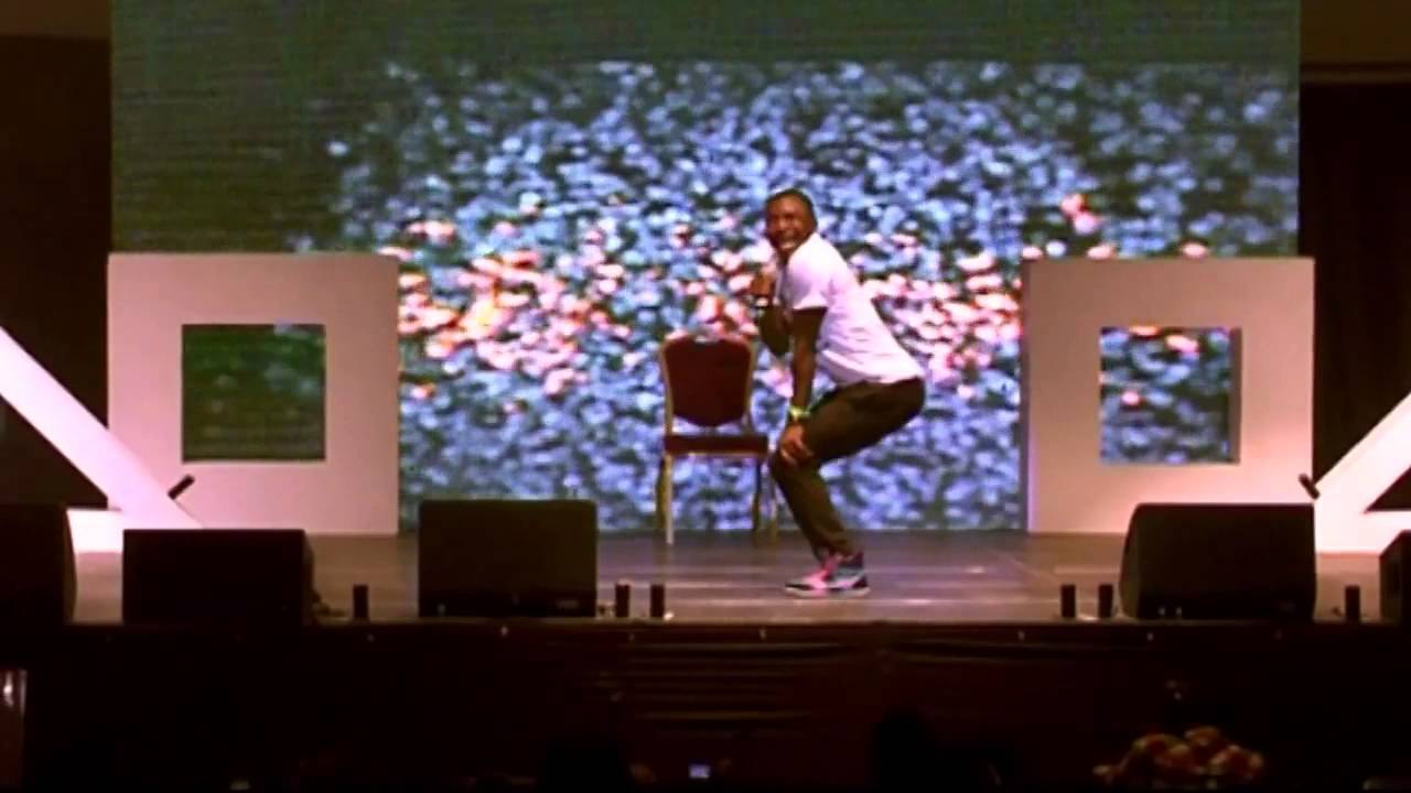 Funny Bone and Skales Performs At AY Live Lagos