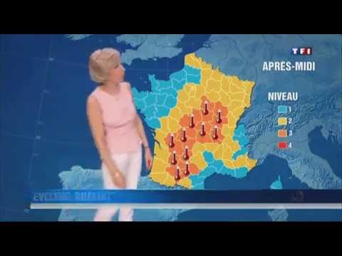 Journées la plus froide et la plus chaude de l'année 2012