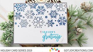 Gambar cover Got Joy Creations Holiday Card Series 2019 - Therm-O-Web and Gina K Designs