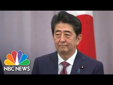Japan's PM: Donald Trump a 'Leader With Whom I Can Have Great Confidence' | NBC News