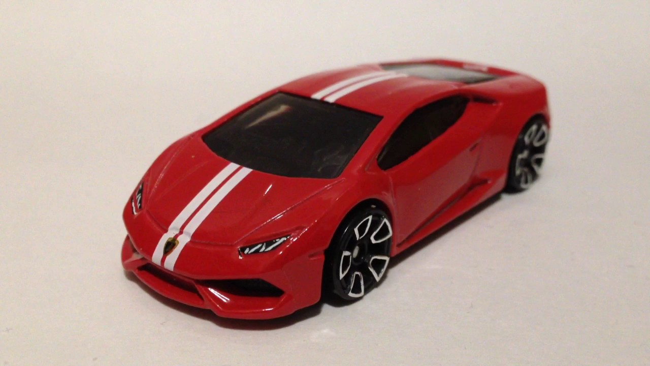 Hot Wheels Lamborghini Huracan LP610 4 (2017 HW Exotics 5 Pack)