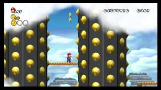 New Super Mario Bros. Wii - Star Coin Location Guide - World 7-Castle | WikiGameGuides
