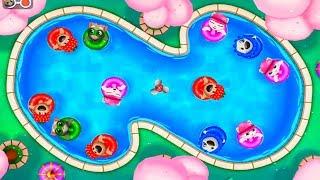 ТОМ АКВАПАРК #11 Бассейн говорящего Тома и ДРУЗЬЯ Затерянный город Tom Pool Игровой мультик