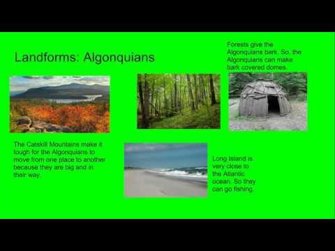 Haudenosaunee and Algonquians (Meredith)