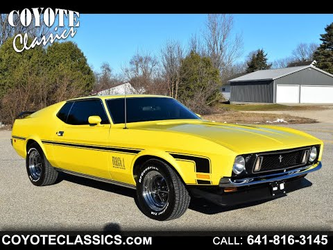1973 Ford Mustang For Sale At Coyote Classics