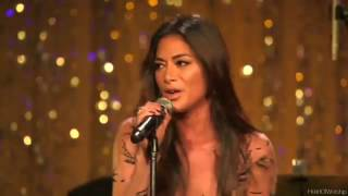 Nicole Scherzinger performs at The Weinstein Company Pre-Oscar party