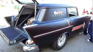 shorty the customized 57 chevy wagon