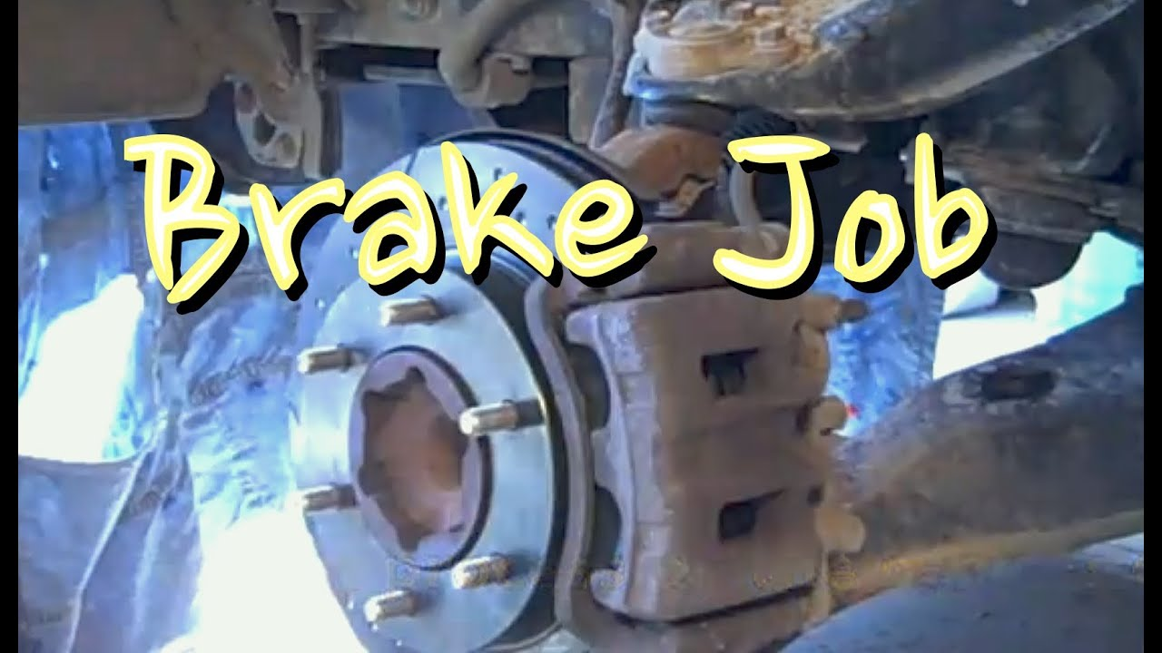 How to do a Brake Job - Pads and Rotors on Asian Import