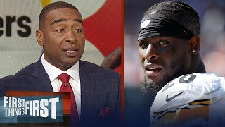 Cris Carter on reports L. Bell is not expected to join Steelers this week | NFL | FIRST THINGS FIRST